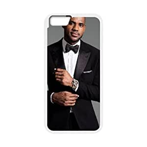 Lebron James iPhone 6 Plus 5.5 Inch Cell Phone Case White xlb-326559