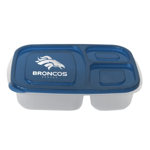Broncos Lunch (NFL Denver Broncos Lunch Container with Lid)