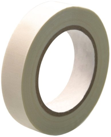 CS Hyde High Temperature Fiberglass  Double Sided Silicone Adhesive Tape, ivory 1 inch x 36 yards by CS Hyde