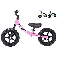 Banana Bike LT - Lightweight Balance Bike for Kids - 2, 3 & 4 Year Olds (Pink)