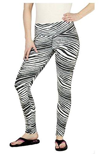 Zubaz Ladies Sport Team Legging Pants (Large, -