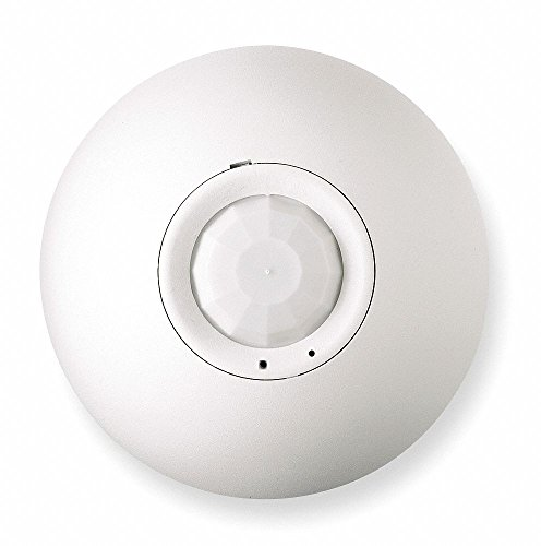 (Hubbell ATP1500CL Adaptive Technology Passive Infrared Ceiling Sensor, 1500 Sq. Ft. Coverage, White)