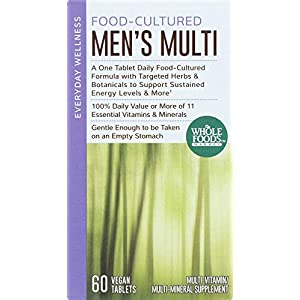Whole Foods Market, Food-Cultured Men's Multi, 60 ct