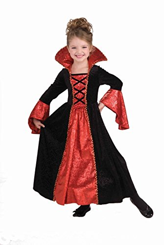 Evil Princess Halloween Costumes (Forum Novelties Vampire Princess Costume Dress, Child Small)