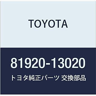 TOYOTA 81920-13020 Reflector Assembly: Automotive