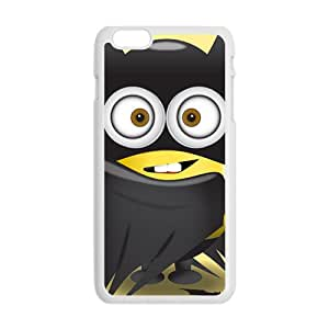 Lovely black cloth Minions Cell Phone Case for Iphone 6 Plus