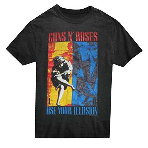 lusion Combo Men's T-Shirt Black Large ()