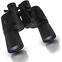 High Powered Magnification Binoculars,BIAL 8-24 X 50 Compact and Durable HD Telescope Clear Vision for Hunting and Travel (Black)