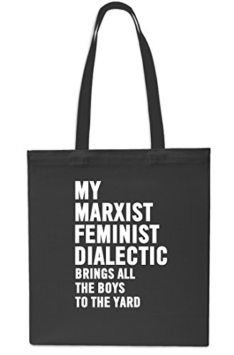 Brings litres Boys Bag Black x38cm Tote All Black Feminist Gym My The Marxist Yard The 42cm Beach Dialectic To 10 Shopping qYgUxtwxB