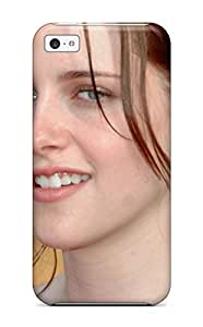 LJF phone case Hot YWnSsjL5542smQfu Case Cover Protector For Iphone 5c- Kristen Stewart Desktop