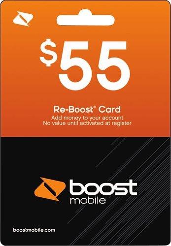 Amazon Com Boost Mobile 55 00 Reboost Refill Prepaid Card Cell