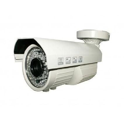 CAMTRONICS - Cámara Tubular AHD 2 Mpx FULL HD IR .Carcasa antivandálica color blanco.