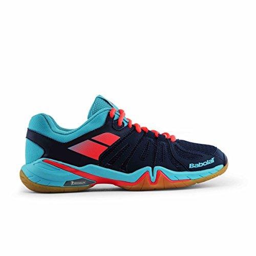 Babolat Shadow Spirit Damen Sport Hallen Badminton Schuh blau