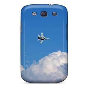 MeSusges KpEQEWq2588nwKIn Protective Case For Galaxy S3(military Plane In The Clouds)