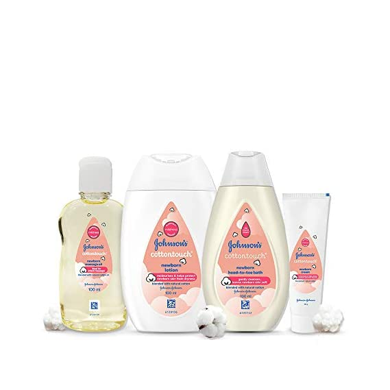 Johnson's Baby Cotton Touch Trial Baby Care Gift Set
