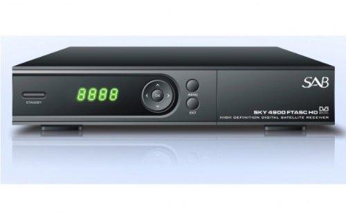 SAB SKY 4900 Full HD FTASC HDTV Sat Receiver USB LAN