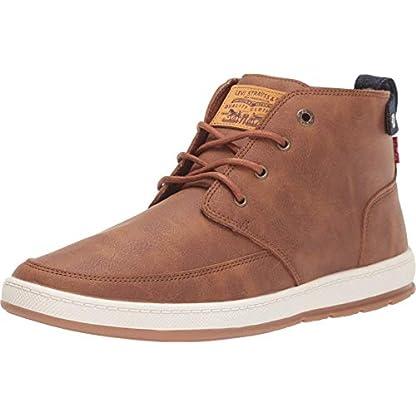 Levi's Goshen Men's Faux Leather Lace Up Fashion Sneaker Boots 1