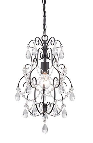 (Designers Fountain 6204-ORB Flora 1 Light Mini Chandelier, 13.5