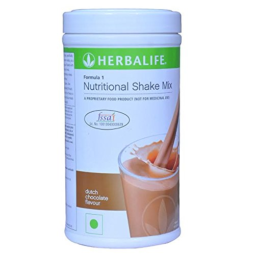 Herbalife Formula 1 Nutritional Shake Mix, Dutch Chocolate, Net Wt. 27.5 OZ. (780G)