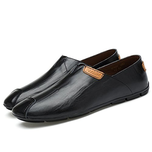 Mocassini 38 On Dimensione Comodi Uomo Scarpe Uomo Color 2018 Mocassini EU shoes Scarpe Slip Guida Shufang Mocassini Moda Da Casual Nero Casual xPHOq7RS