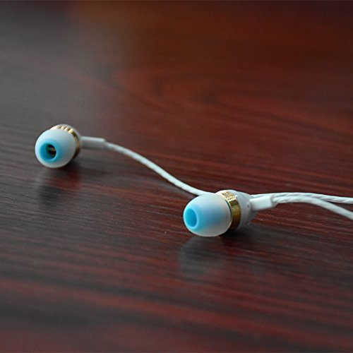 Earbuds Earphones Headphones, Earfly Unique Perfume in-Ear Earbuds Headphones Compatible for Apple iPhone 6s 6 Plus 5s 5 SE 4s 4 Android Samsung Galaxy S8 S7 S6 S5 Note iPad PC Sports.(White)