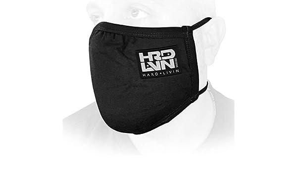 Monsta Clothing Co HRD-LVN Covid-19 Face Mask G:BK Men Bodybuilding Workout