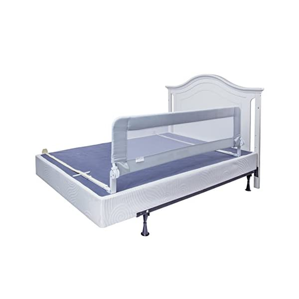 Toddler Bed Rail Guard for Convertible Crib, Kids Twin, Double, Full Size Queen & King 1