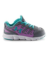 Under Armour Little Girls' Infant UA Spine RN Shoes 8K CHAOS