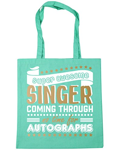 Mint Awesome Shopping Gym Super Time Through 42cm x38cm No For Beach Bag Tote 10 litres Autographs Singer Coming HippoWarehouse 4xw5HqPgUU