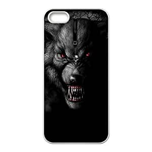 Customized case Of Wolf Hard Case for iPhone 5,5S
