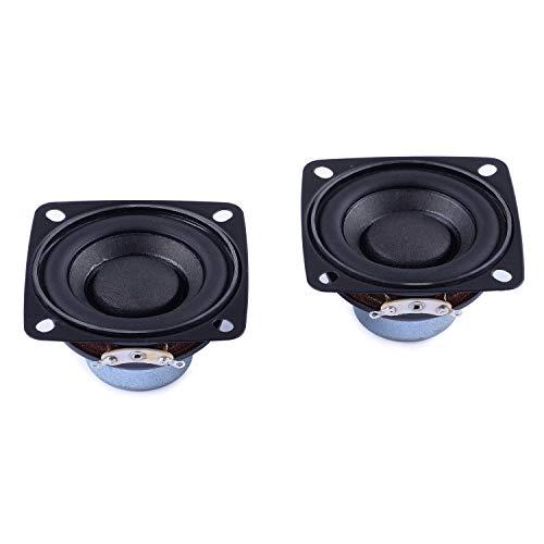 Cylewet 2Pcs 2inch 4Ohm 10W Full Range Audio Speaker Stereo Woofer Loudspeaker for Arduino (Pack of 2) CYT1116