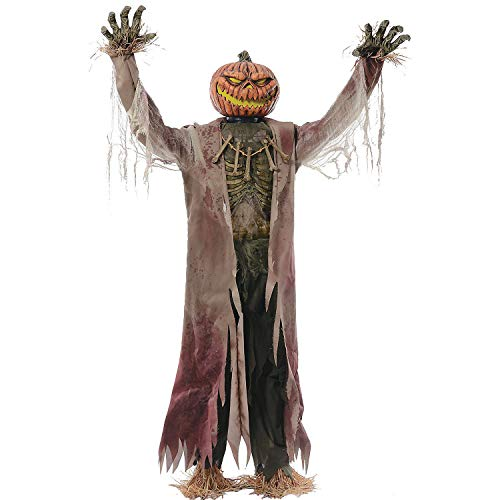 Fun Express - The Corn Stalker Animated for Halloween - Home Decor - Decorative Accessories - Home Accents - Halloween - 1 -
