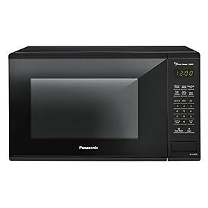 Panasonic NN-SU656B Countertop Microwave Oven with Genius Cooking Sensor and Popcorn Button, 1.3 cu. ft., 1100W, Black
