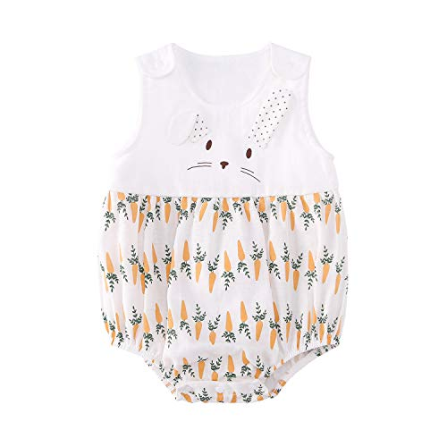 Bunny Outfits - pureborn Baby Girls Bodysuit Cartoon Cute
