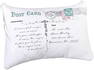 "Lillian Rose 8.75""x7"" Postcard Ring Pillow Blank"