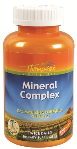 Thompson - Mineral Complex, Complete 100 Tab
