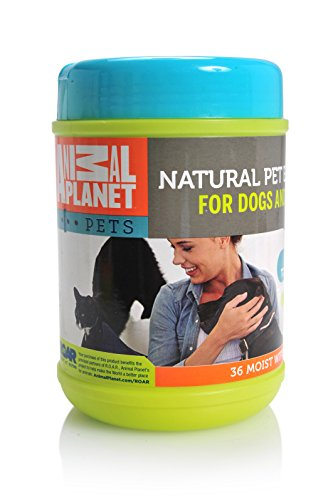 Animal Planet Natural Pet Wipes for Ears 36 Count 4