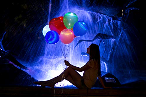 (LED Balloons 32 Pack Flashing Party Lights Glow In The Dark Party)