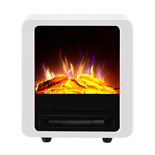 Cheap Electric Fireplace Electric Heaters Household Electric Baking Oven Core Simulation Stove Intelligent Remote Control Automatic Thermostat Heater 1000W / 2000W Heating & Cooling(White) Black Friday & Cyber Monday 2019