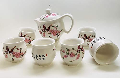 Chinese Tea Pot with Beautiful Design 15oz Tea Pot, the Cups
