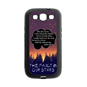 Quotes from The Fault in Our Stars Protective Gel Rubber Cell Cover Case for SamSung Galaxy S3 Kimberly Kurzendoerfer