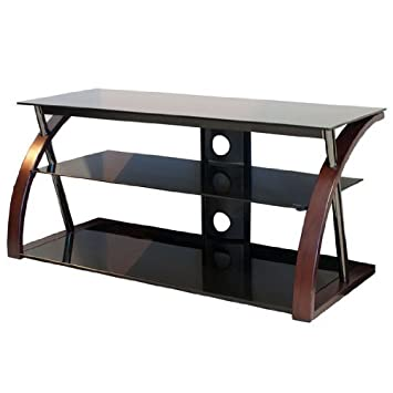 flat screen tv stands walmart inch wide panel stand walnut black with wheels corner