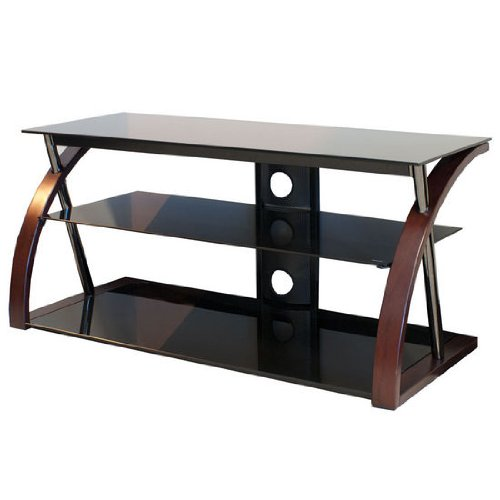 TechCraft BWNTR48 48-Inch Wide Flat Panel TV Stand - (Tech Craft Metal Tv Stand)