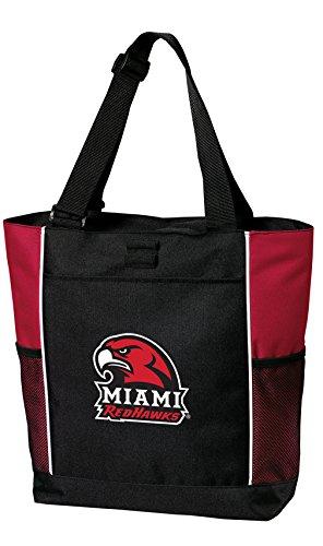 - Broad Bay Miami University Tote Bags Red Miami Redhawks Totes Beach Travel