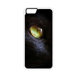 Black Cat DIY Hard Case for iPhone6 Plus 5.5