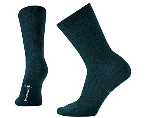 Smartwool Women's Cable II Socks (Lochness Heather) Small