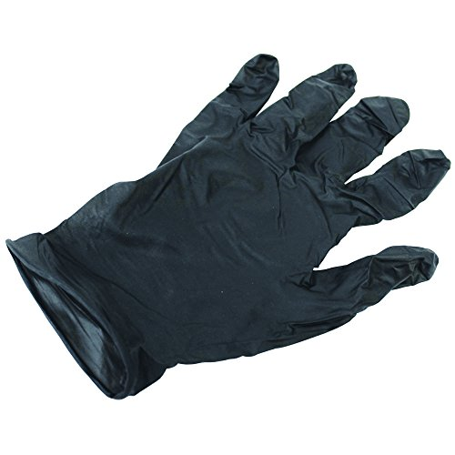 IMPACT PRODUCTS 8642XL Proguard Ambidextrous Disposable powder-Free General Purpose Nitrile Gloves, XL, black, 100 Per Box, 10 Boxes Per Case-129381 by Impact Products