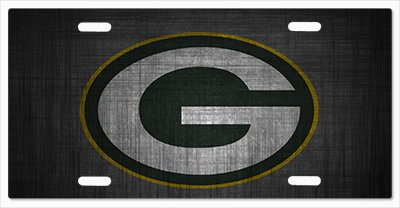 Green Bay Packers - The Run v08 Vanity License Plate
