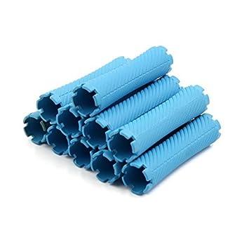 Amazon.com: eDealMax 10pcs plástico Azul de Estilismo ...
