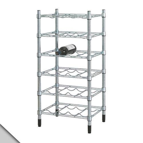 IKEA - OMAR Wine shelf, galvanized (Ikea Wine Wall Rack compare prices)